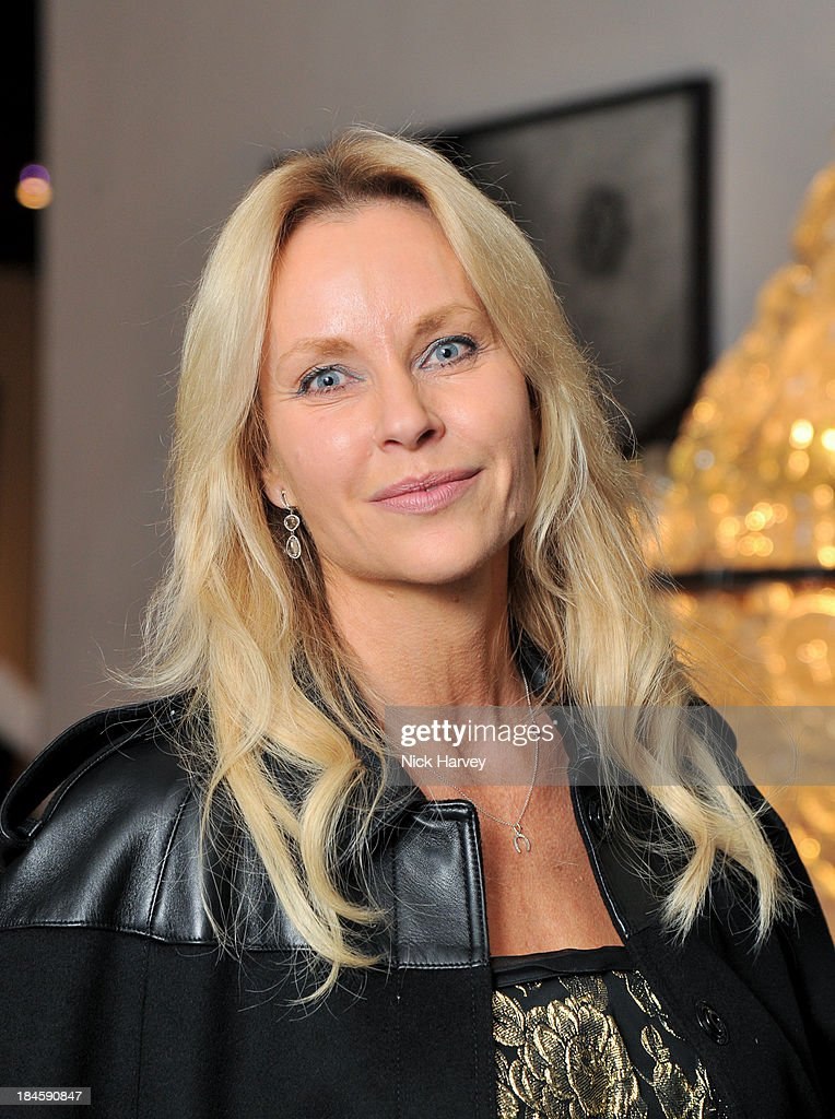 Sabina McTaggart attends the collectors preview for PAD London at Berkeley Square Gardens on October 14, 2013 in London, England.