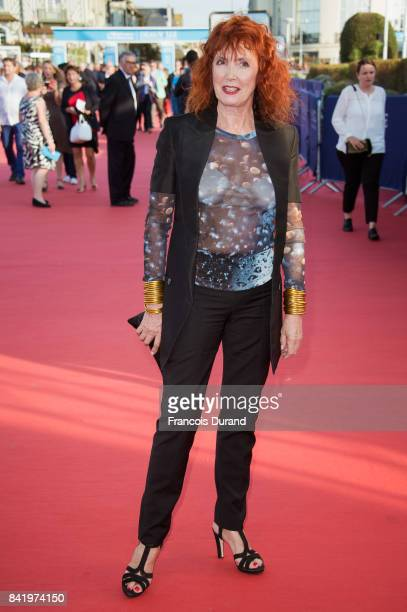 Sabine Azema arrives at the opening ceremony of the 43rd Deauville American Film Festival on September 2 2017 in Deauville France