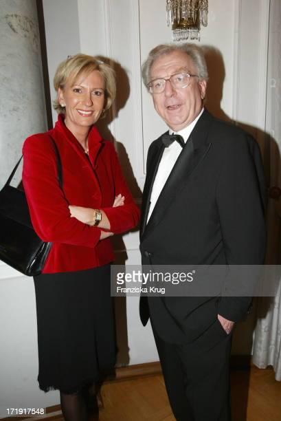Sabine Christiansen und Lothar Späth Bei Charity Modenschau Auf Schloss Bellevue
