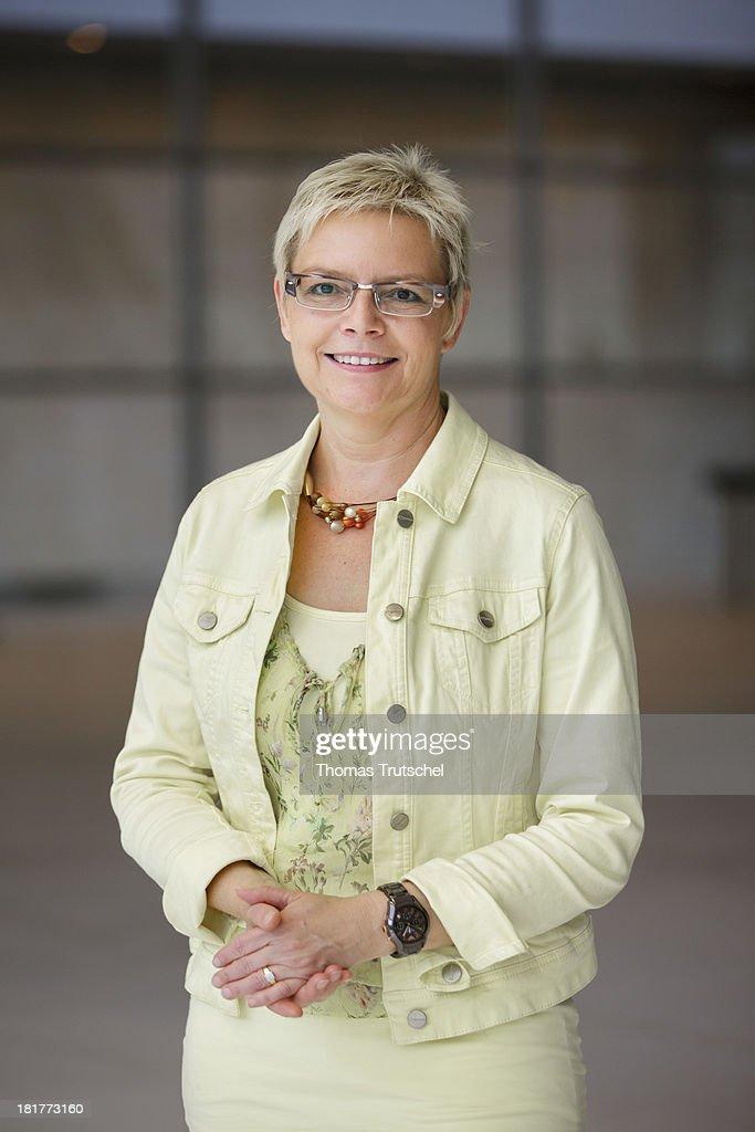 Sabine Dittmar, SPD, member of German Bundestag, poses for a photograph on September 24, 2013 in Berlin, Germany.