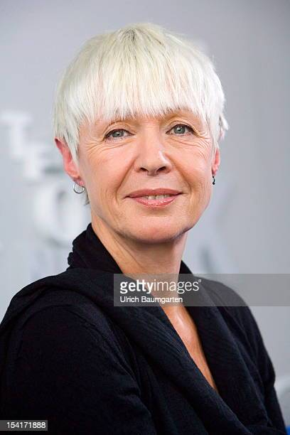 Sabine Friedrich German writer on October 10 2012 in Frankfurt am Main Germany The Frankfurt Book Fair is the largest in the world and will run from...
