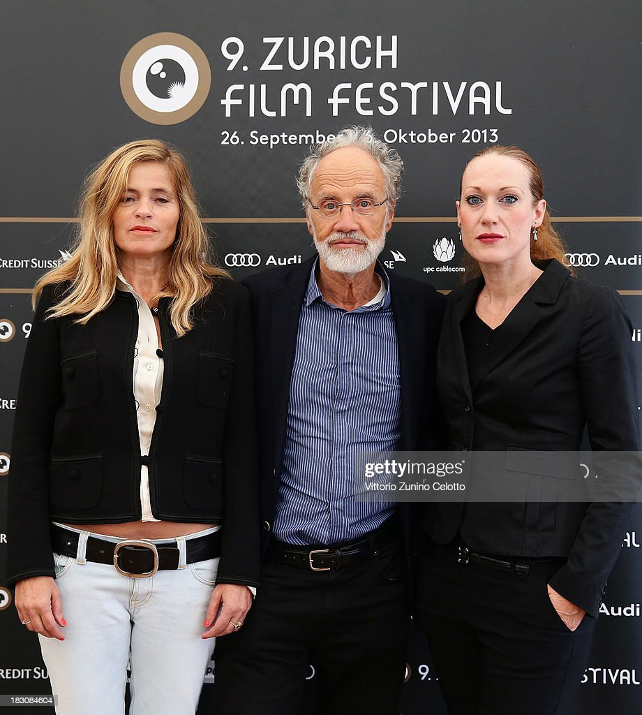 Sabine Gisiger, Markus Imhoof, Tizza Covi attend the Documentary Competition DE, AT, CH Jury Photocall during the Zurich Film Festival 2013 on October 4, 2013 in Zurich, Switzerland.