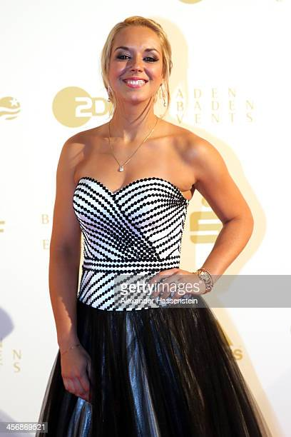 Sabine Lisicki attends the Sportler des Jahres 2013 gala at the Kurhaus BadenBaden on December 15 2013 in BadenBaden Germany