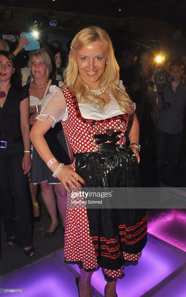 Sabine Mord attends the 'Style Up Your Live' magazin presentation at Bettel-Alm on June 12, 2013 in Vienna, Austria.