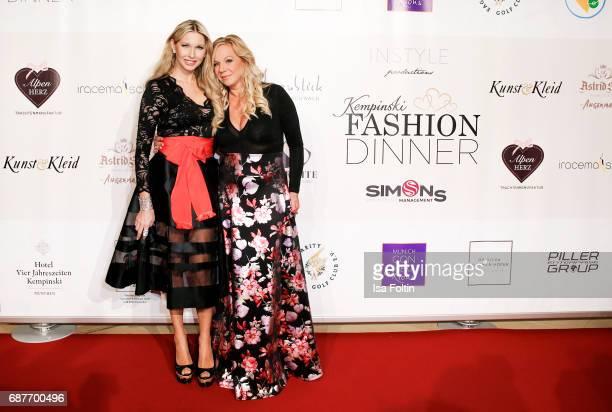 Sabine Piller and Birgit FischerHoeper attends the Kempinski Fashion Dinner on May 23 2017 in Munich Germany