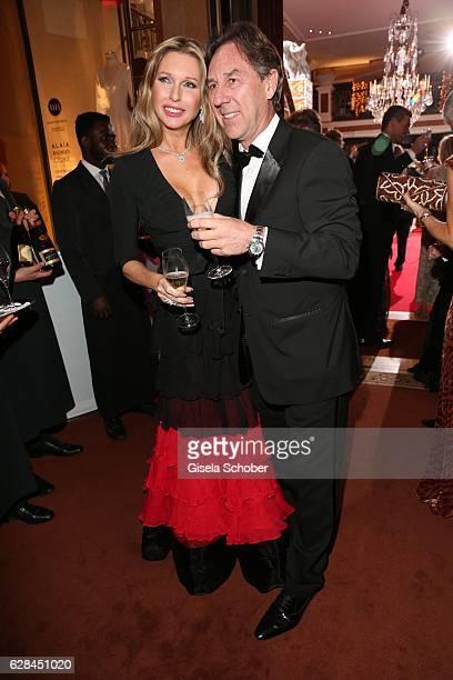 Sabine Piller and her husband Ralf Piller during the 10th Audi Generation Award 2016 at Hotel Bayerischer Hof on December 7 2016 in Munich Germany