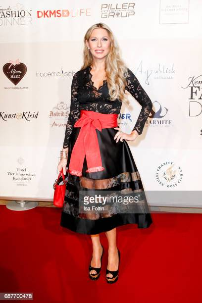 Sabine Piller attends the Kempinski Fashion Dinner on May 23 2017 in Munich Germany