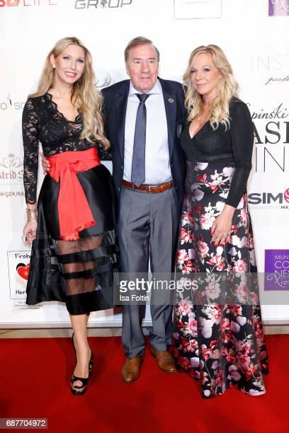 Sabine Piller Frank Fleschenberg and Birgit FischerHoeper attend the Kempinski Fashion Dinner on May 23 2017 in Munich Germany