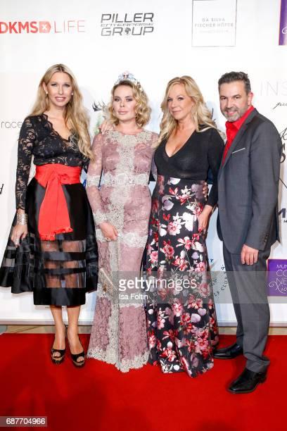 Sabine Piller Julia K Birgit FischerHoeper and Pedro Da Silva attend the Kempinski Fashion Dinner on May 23 2017 in Munich Germany