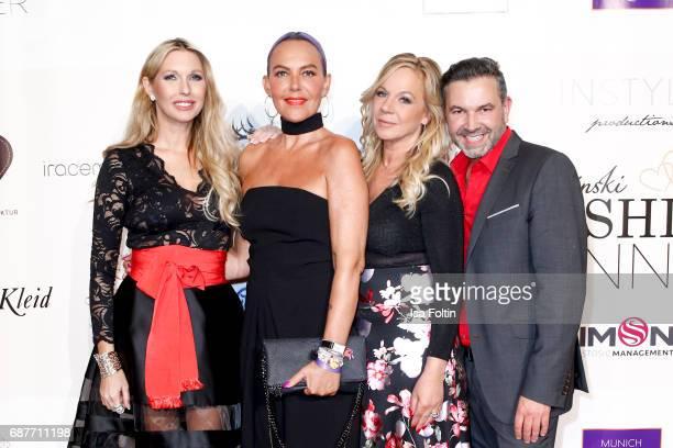 Sabine Piller Natascha Ochsenknecht Birgit FischerHoeper and Pedro Da Silva attend the Kempinski Fashion Dinner on May 23 2017 in Munich Germany