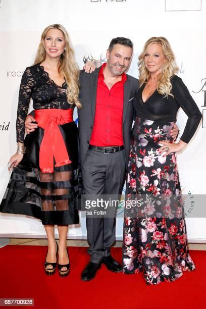 Sabine Piller Pedro Da Silva and Birgit FischerHoeper attends the Kempinski Fashion Dinner on May 23 2017 in Munich Germany