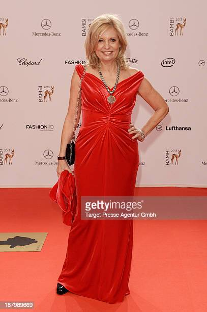 Sabine Postel attends the Bambi Awards 2013 at Stage Theater on November 14 2013 in Berlin Germany