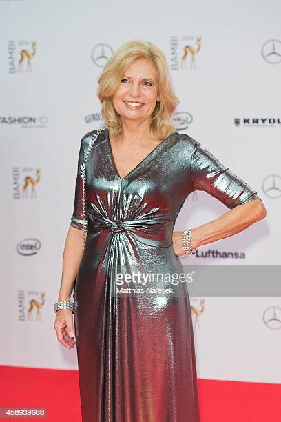 Sabine Postel attends the Bambi Awards 2014 on November 13 2014 in Berlin Germany