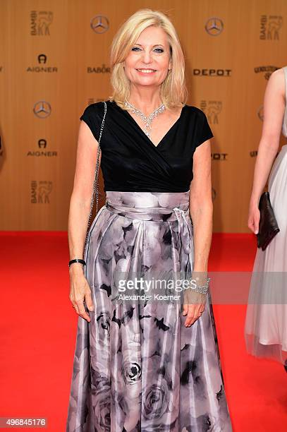 Sabine Postel attends the Bambi Awards 2015 at Stage Theater on November 12 2015 in Berlin Germany