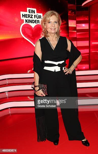 Sabine Postel attends the Ein Herz fuer Kinder Gala 2014 at Tempelhof Airport on December 6 2014 in Berlin Germany