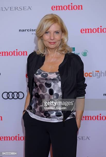 Sabine Postel attends the Emotion Award at Laeiszhalle on June 22 2016 in Hamburg Germany