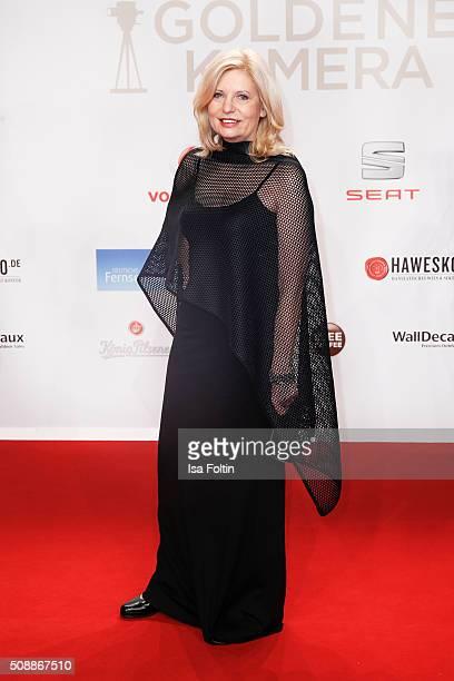Sabine Postel attends the Goldene Kamera 2016 on February 6 2016 in Hamburg Germany