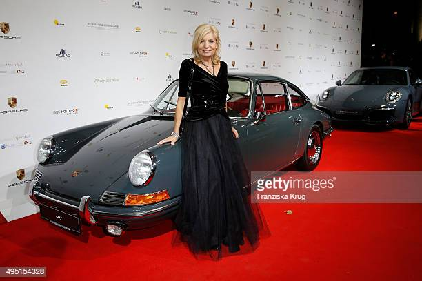 Sabine Postel attends the Leipzig Opera Ball 2015 on October 31 2015 in Leipzig Germany