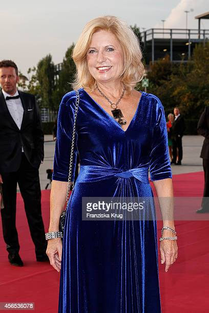 Sabine Postel attends the red carpet of the Deutscher Fernsehpreis 2014 on October 02 2014 in Cologne Germany
