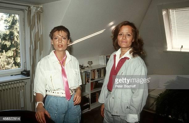 Sabine Postel Claudia Rieschel Homestory am in Köln Deutschland