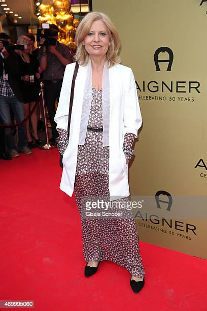 Sabine Postel during the 50th Anniversary of AIGNER on April 16 2015 in Munich Germany