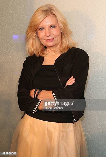 Sabine Postel during the ARD advent dinner hosted by the program director of the tv station Erstes Deutsches Fernsehen at Hotel Bayerischer Hof on...