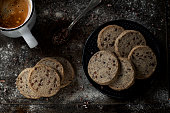 sable cookies with buckwheat flour