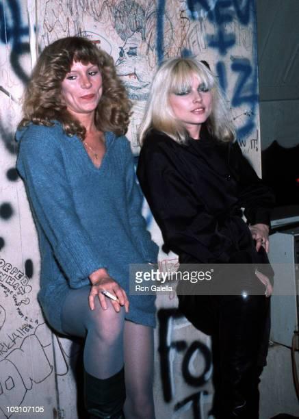 Sable Starr and Blondie singer Debbie Harry