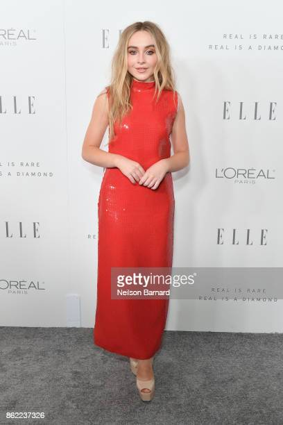 Sabrina Carpenter attends ELLE's 24th Annual Women in Hollywood Celebration presented by L'Oreal Paris Real Is Rare Real Is A Diamond and CALVIN...