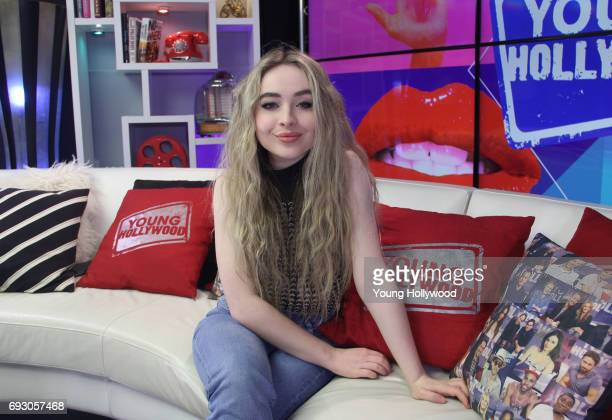 Sabrina Carpenter visits the Young Hollywood Studio on June 5 2017 in Los Angeles California