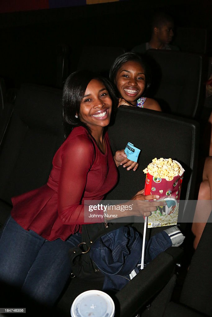 Sabrina D. Carter and Alissa Smith attend 'The Stream' Premiere at Regal Union Square Theatre, Stadium 14 on October 15, 2013 in New York City.