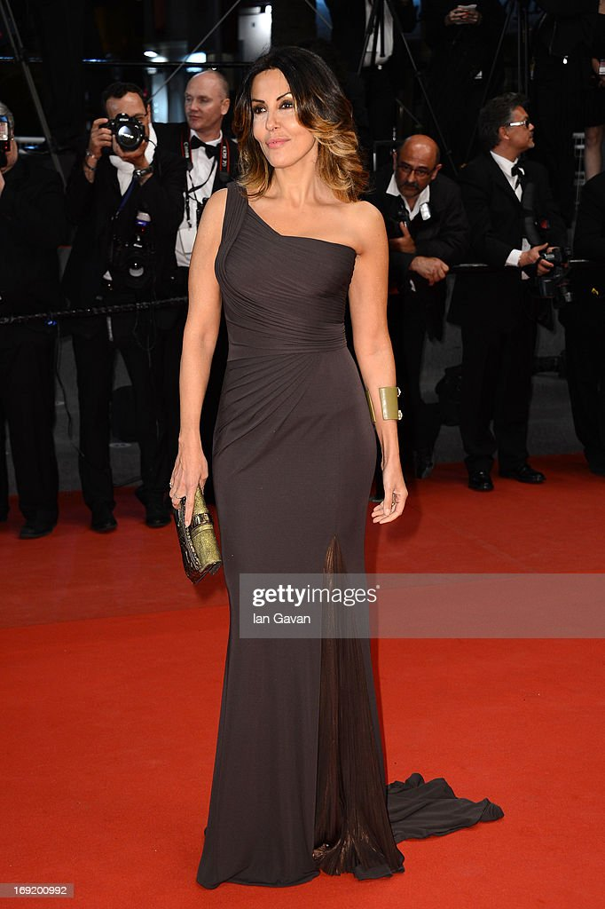 Sabrina Ferilli attends the 'La Grande Bellezza' premiere during The 66th Annual Cannes Film Festival at Theatre Lumiere on May 21, 2013 in Cannes, France.
