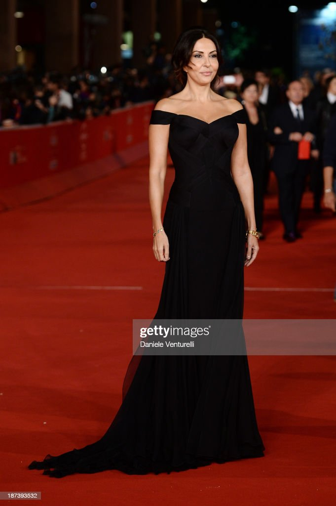 Sabrina Ferilli attends the Opening Ceremony and 'L'Ultima Ruota Del Carro' Premiere during The 8th Rome Film Festival on November 8 2013 in Rome...