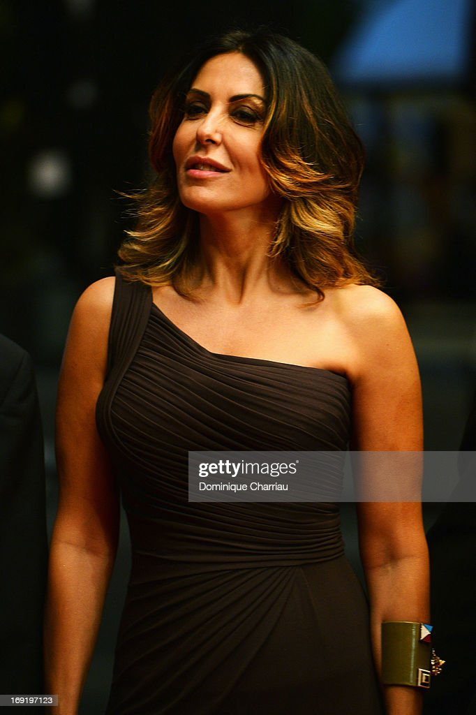 Sabrina Ferilli attends the Premiere of 'La Grande Bellezza' (The Great Beauty) during The 66th Annual Cannes Film Festival at Palais des Festivals on May 21, 2013 in Cannes, France.