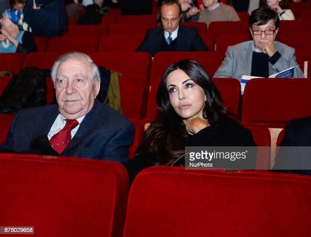 Sabrina Ferilli during presentation of the book 'Quando' by Walter Veltroni at Auditorium Rome on november 16 2017