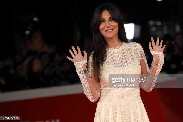 Sabrina Ferilli walks a red carpet for 'The Place' during the 12th Rome Film Fest at Auditorium Parco Della Musica on November 4 2017 in Rome Italy