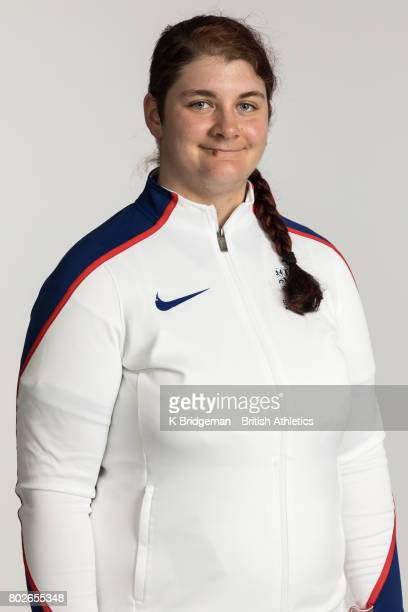 Sabrina Fortune of Great Britain poses for a portrait during the British Athletics World Para Athletics Championships Squad Photo call on June 25...