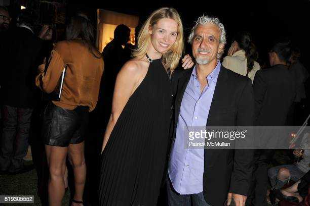 Sabrina Huls and Ric Pipino attend SALVATORE FERRAGAMO ATTIMO Launch Event at The Standard Hotel on June 30 2010 in New York City
