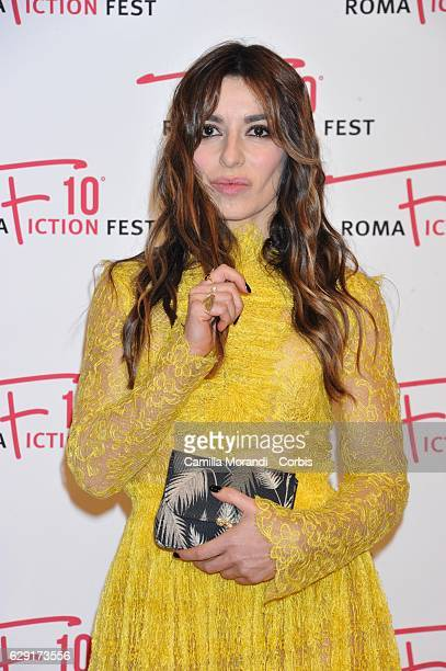 Sabrina Impacciatore attends a red carpet for ' Immaturi' during the Roma Fiction Fest on December 11 2016 in Rome Italy