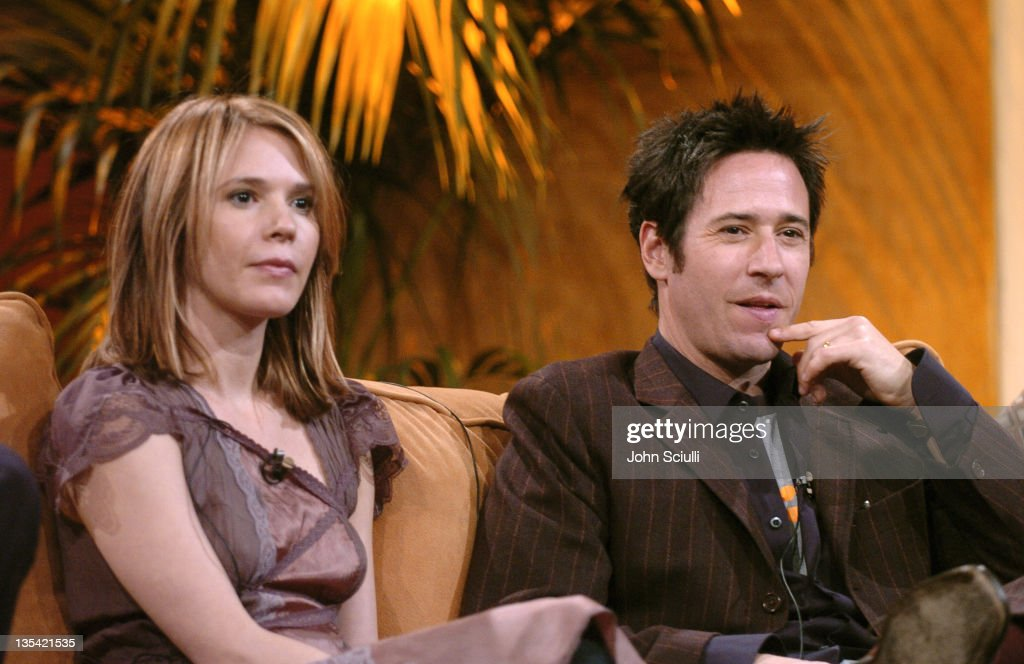 Sabrina Lloyd and Rob Morrow during CBS Presentation at 2005 TCA Winter Press Tour at Sheraton Universal in Universal City California United States