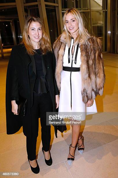 Sabrina Marshall and Princess Elizabeth Von Turn und Taxis attend the 'Fondation Claude Pompidou' Charity Party at Fondation Louis Vuitton on...