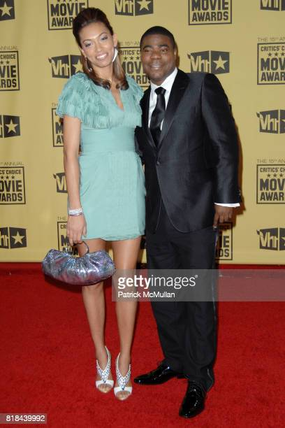 Sabrina Morgan and Tracy Morgan attend 2010 Critics Choice Awards at The Palladium on January 15 2010 in Hollywood California