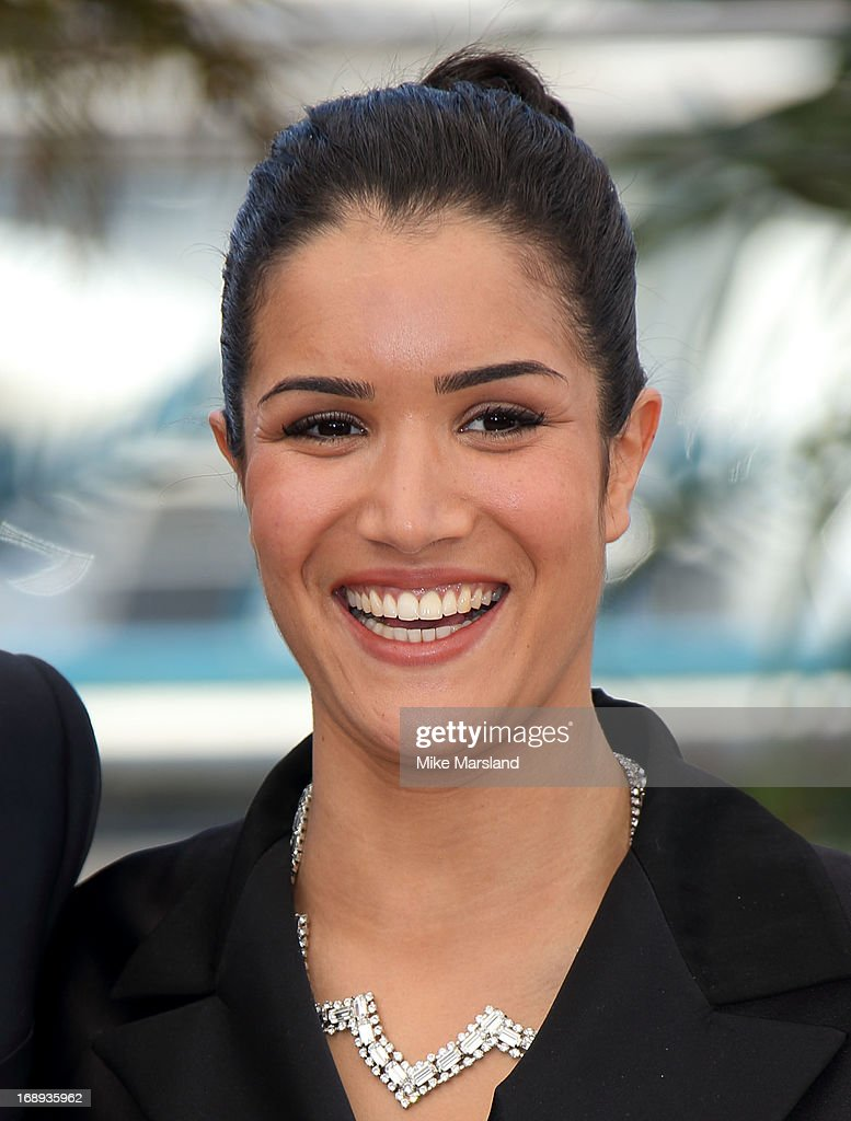 Sabrina Ouazani attends the photocall for 'Le Passe' (The Past) at The 66th Annual Cannes Film Festival on May 17, 2013 in Cannes, France.