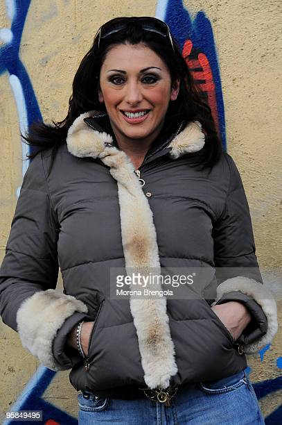 Sabrina Salerno attends 'Scalo 76' TV Show on January 10 2009 in Milan Italy