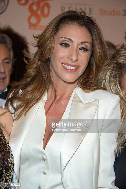 Sabrina Salerno attends the 'Stars 80' Film Premiere at Le Grand Rex on October 19 2012 in Paris France
