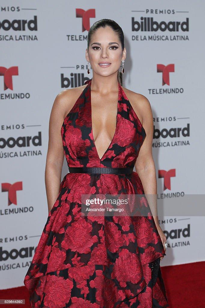 Sabrina Seara attends the Billboard Latin Music Awards at Bank United Center on April 28, 2016 in Miami, Florida.