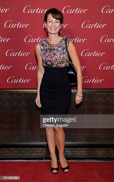 Sabrina Staubitz attends Cartier Boutique ReOpening Party on September 5 2012 in Hamburg Germany