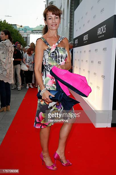 Sabrina Staubitz attends the Concept Store Apropos Official Opening on August 06 2013 in Hamburg Germany