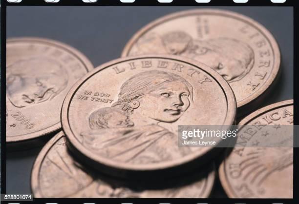 Sacagawea One Dollar Coins