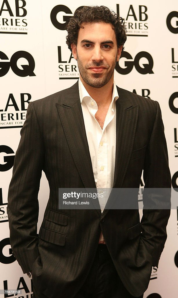 Sacha Baron Cohen at the Royal Opera House in London, United Kingdom.